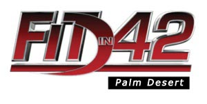 Fit In 42 Studios - Personal Training, Group Workout Classes, Gym in Palm Desert California Logo