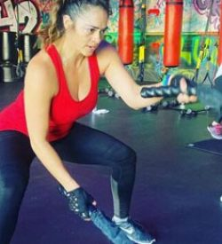 Fit In 42 Palm Springs Gym ropes cardio exercise