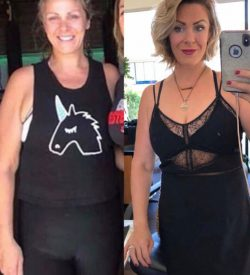 Fit In 42 Fitness Gym - Lean mommy makeover - Female member before and after picture