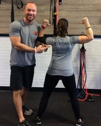 Fit In 42 Fitness Gym Trainers strong tshirt