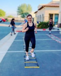 Fit In 42 Fitness Gym - Ladder on the floor outdoor workout