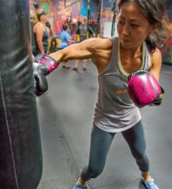 Fit In 42 La Quinta Gym boxing exercise class