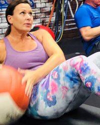 Fit In 42 La Quinta Gym medicine ball cardio exercise