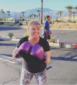 Fit In 42 Personal Trainer and Studio Gym - Woman Outdoor Workout Boxing Class