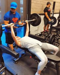 Fit In 42 Palm Springs Gym barbells deadlifting